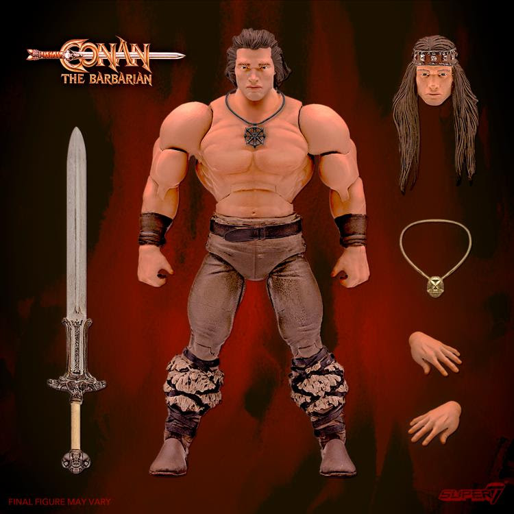 Image of Conan The Barbarian Ultimates Conan (Iconic Movie Pose) - Q2 2021