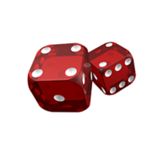 Red Bunco Dice