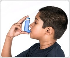 Family risk for childhood asthma may involve microbes found in baby's digestive tract