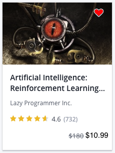 reinforcement learning Archives - Lazy Programmer