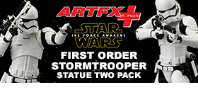 FIRST ORDER STORMTROOPER ARTFX+ SET