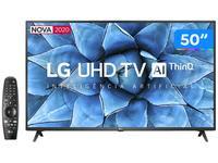 Smart TV 4K LED 50? LG 50UN7310PSC Wi-Fi Bluetooth