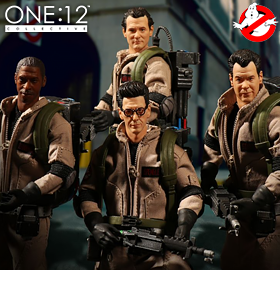 ONE:12 COLLECTIVE GHOSTBUSTERS, MARVEL, DC, HORROR, & MORE!