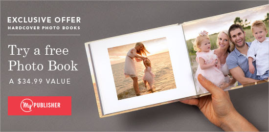FREE hardcover photo book - $3...