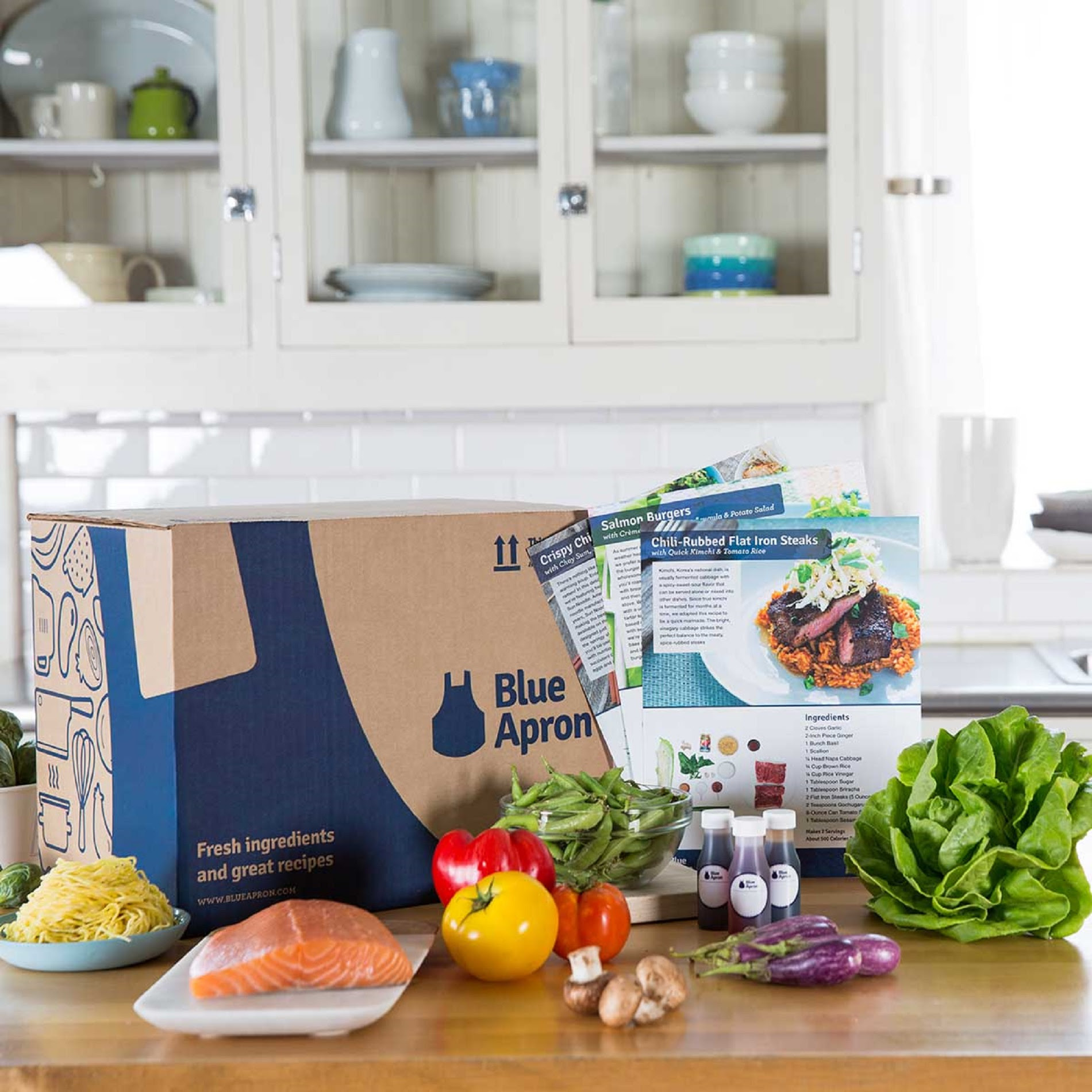 Blue Apron: $50 OFF Your First...