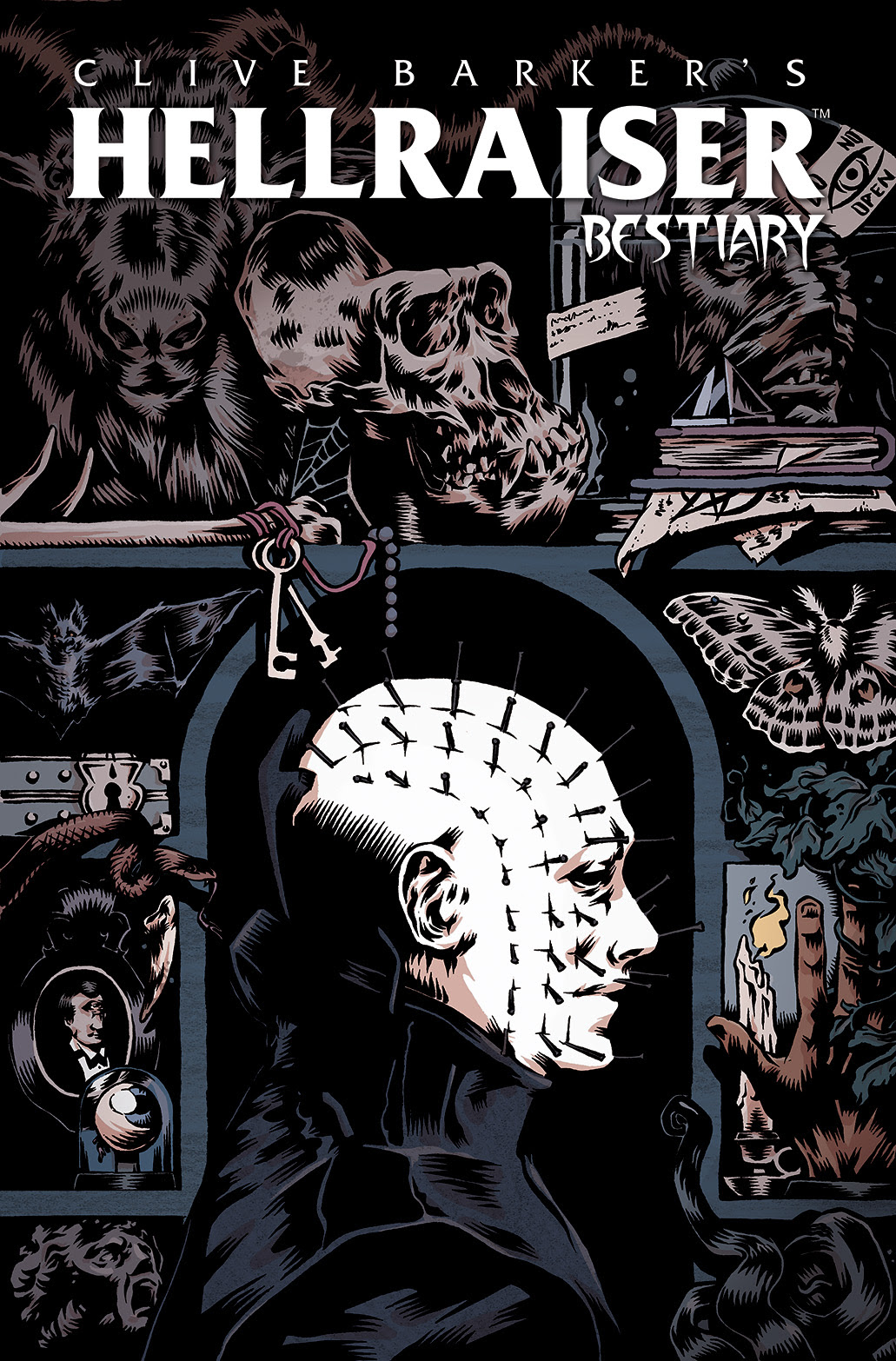 HELLRAISER: BESTIARY Cover A by Conor Nolan