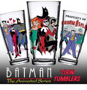 BATMAN: THE ANIMATED SERIES TOON TUMBLERS