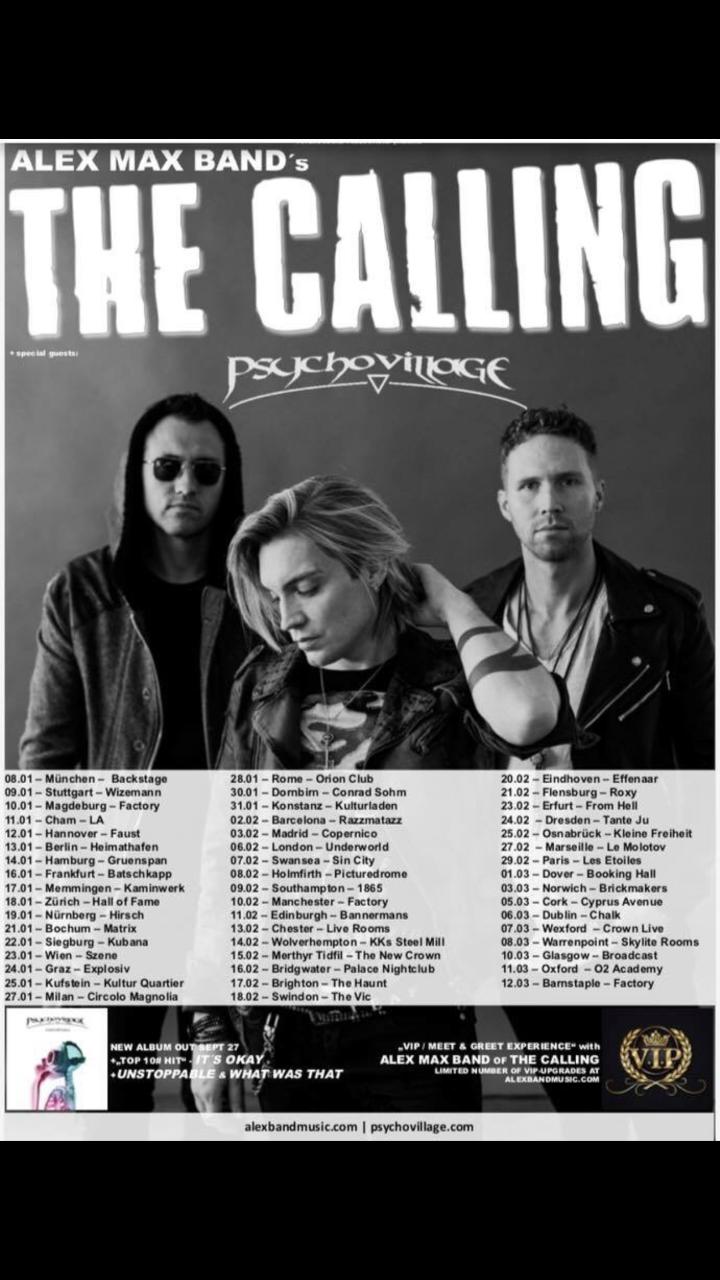 tour poster AA