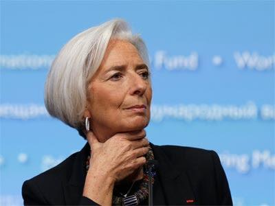 Lagarde, en una imagen de abril de este año. REUTERS/Gary Cameron