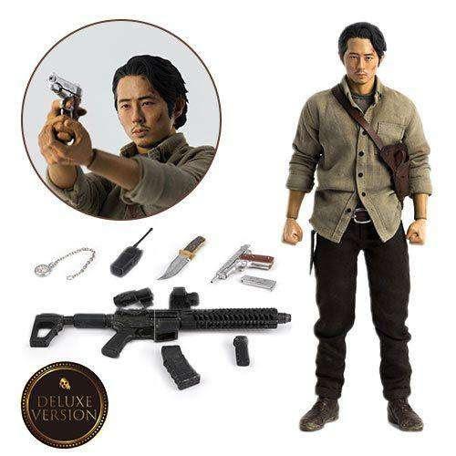 Image of The Walking Dead Glenn Rhee (Deluxe) 1/6 Scale Figure