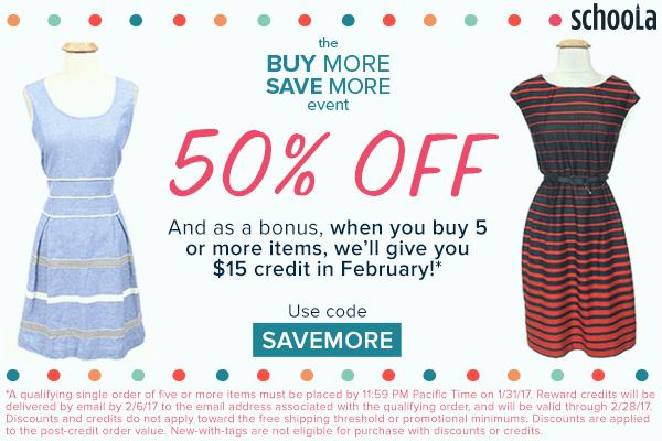 Get 50% Off + $15 Credit at Sc...