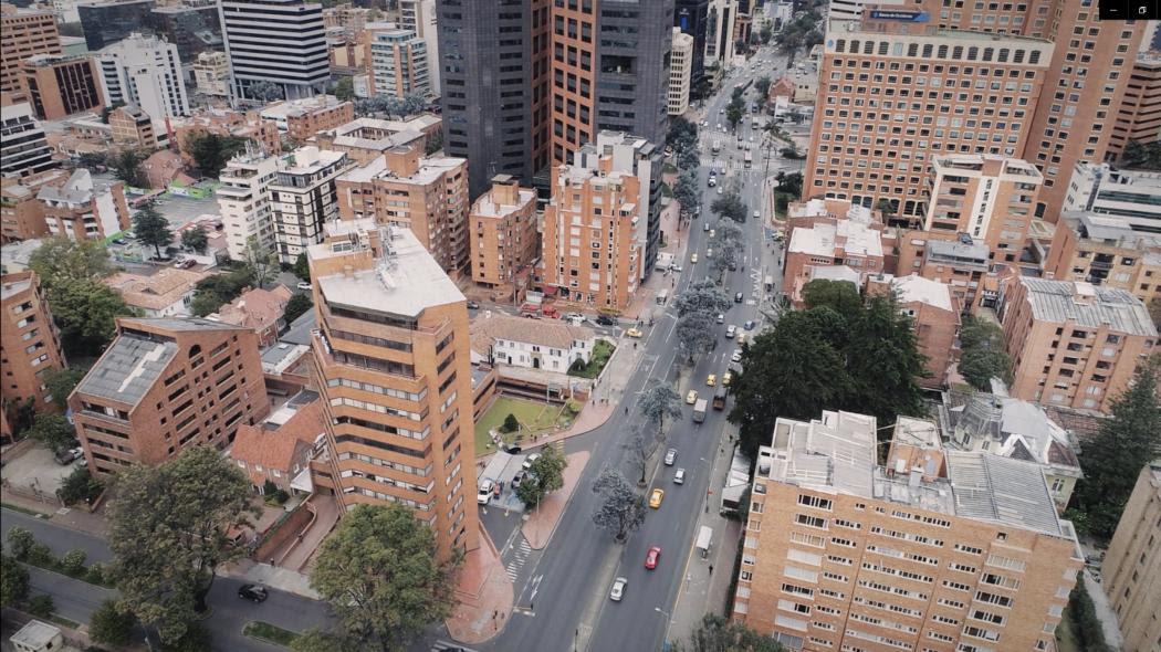 Carrera séptima en Bogotá