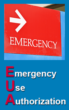 Emergency Use Authorization (EUA) banner