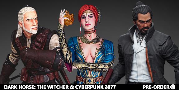 Dark Horse: The Witcher & Cyberpunk 2077