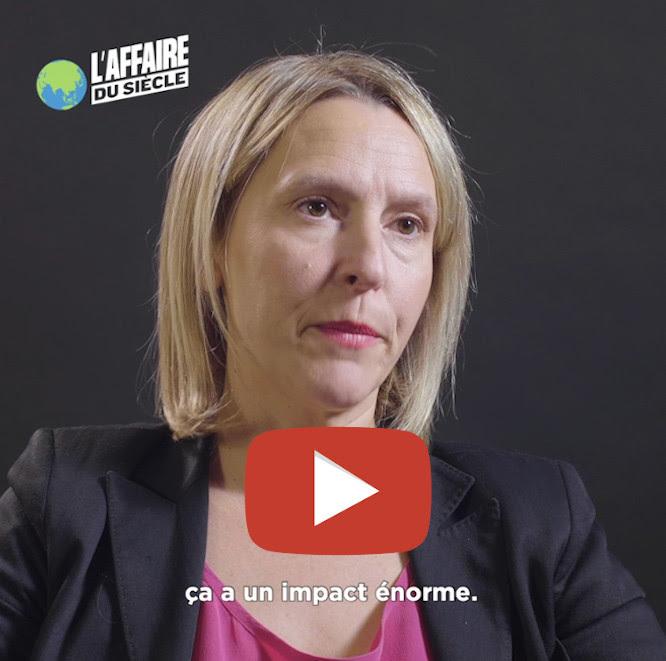 Interview vidéo de Claire Burlin, l'une des avocates de l'Affaire du Siècle