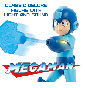 Mega Man Classic Deluxe Figure With Light and Sound