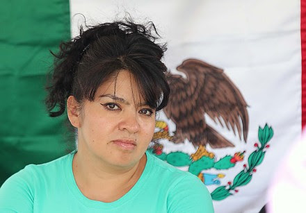 Nestora Salgado, líder de la Policía Comunitaria de Olinalá, Guerrero. Foto: José Luis de la Cruz