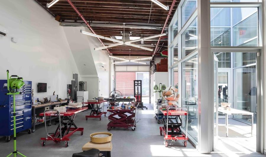 A Financiadora Ex Constrói um dos mais High-Tech Cerâmica Studios de Nova York