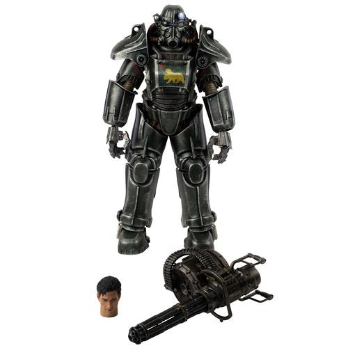 Image of Fallout: New Vegas T-45 NCR Salvaged Power Armor 1:6 Scale Action Figure - MAY 2021
