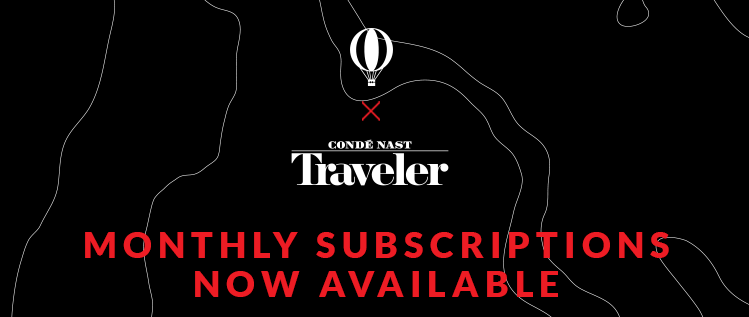 Try The world x Condé Nast Traveler