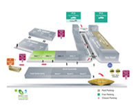 MECTW 2018 venue map