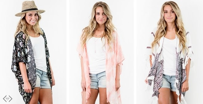 HOT!! Summer Kimonos...