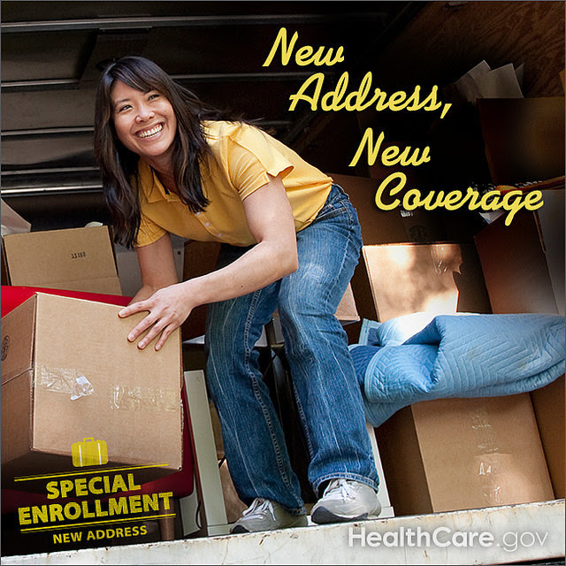 New Address, New Coverage. HealthCare.gov.