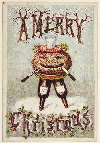 Tấm thiệp Giáng sinh này dường như sẽ thích hợp hơn cho dịp Halloween.