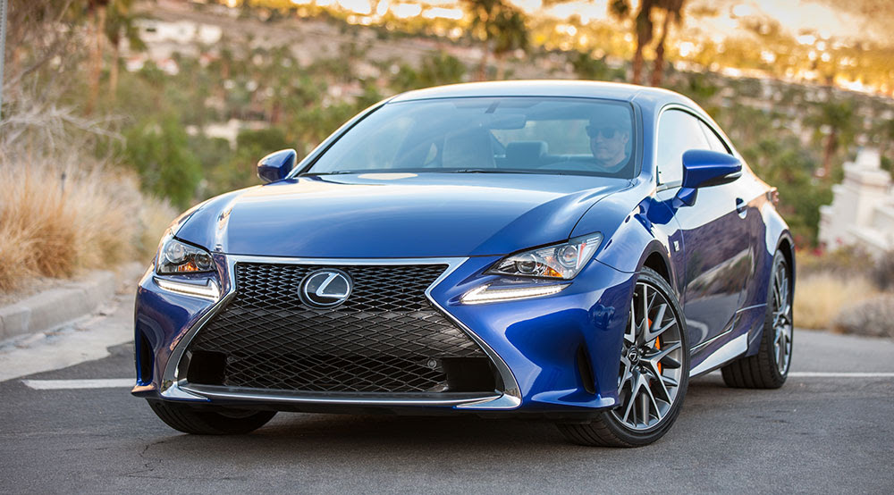 Lexus RC 200t Turbocharged