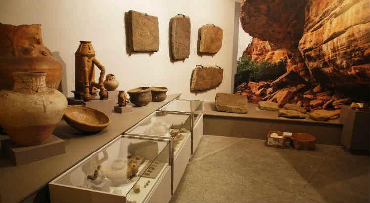 Na exposição, o visitante conhecerá Pernambuco desde a pré-história / Foto: Leo Motta/JC Imagem
