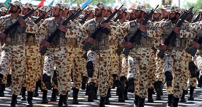Soldados iraníes (archivo)