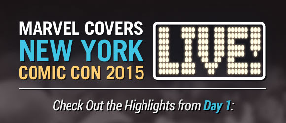 Marvel Covers New York Comic Con 2015