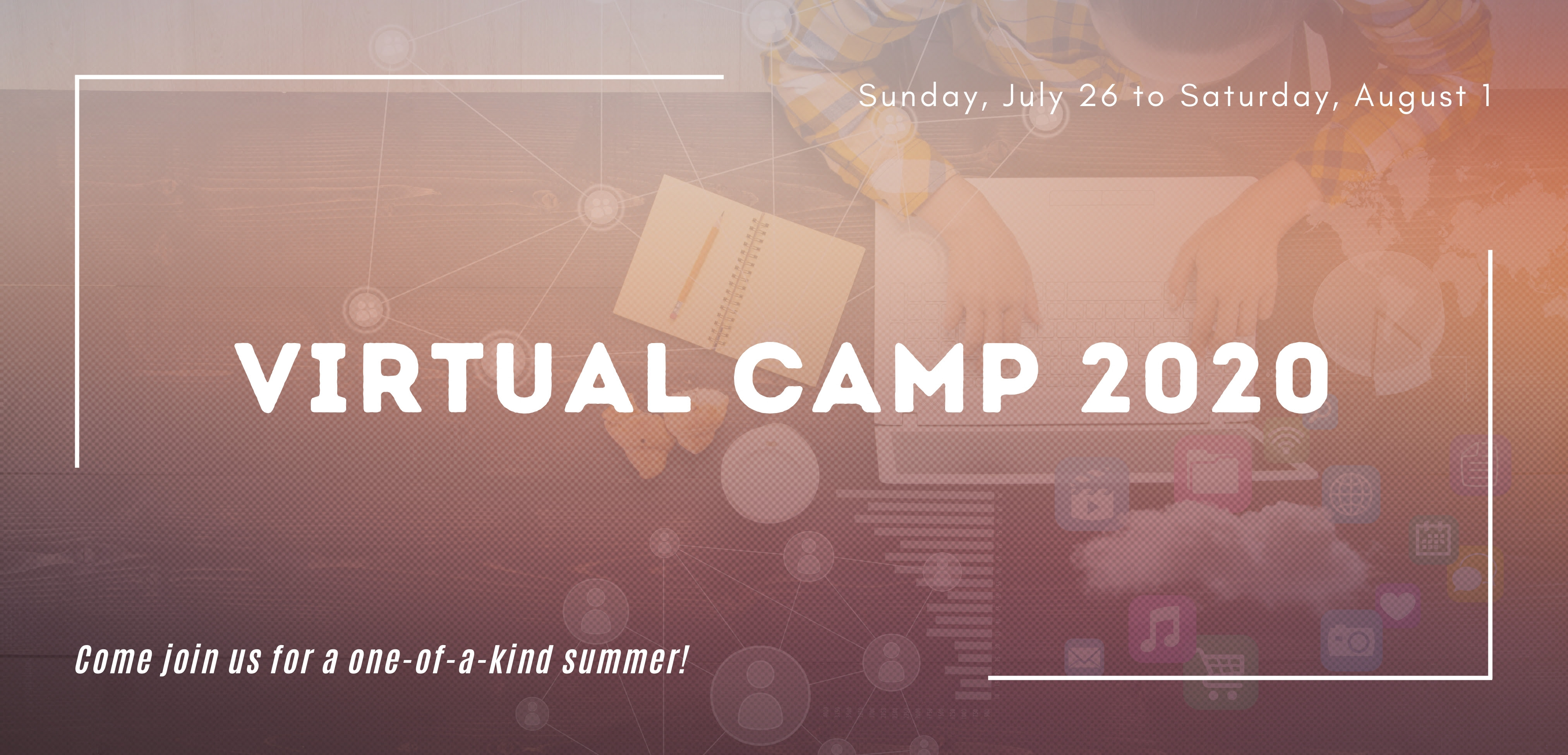 Youth ministry Virtual Camp