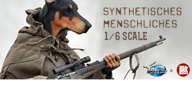 1/6 Scale Synthetisches Menschliches Figure - Wang Beung Tu
