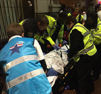 MRC volunteers in treating patient in New Orleans