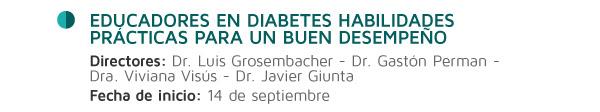 Educadores en diabetes habilidades prácticas para un buen desempeño