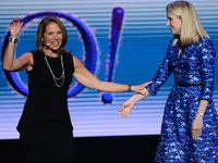 Katie Couric is looking to jump ship from Yahoo
