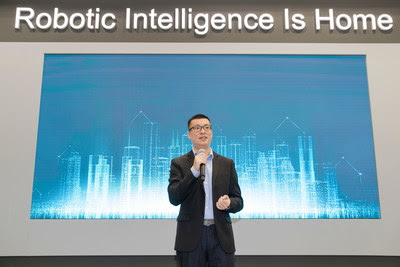 Jonathan Tang, Vice President, Head of Global Business at ECOVACS ROBOTICS, announced new Brand VI at IFA Berlin 2019