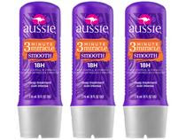 Kit Tratamento Aussie Smooth 3 Minute Miracle