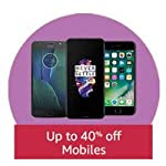Up to 40% off Mobiles