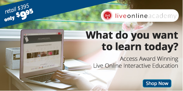 Award winning interactive online education, Live Online Academy offers the highest quality, practical, transparent education to everyone!