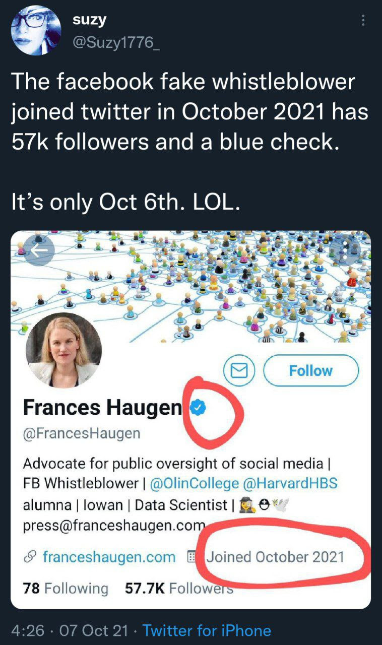 Dubious Twitter account