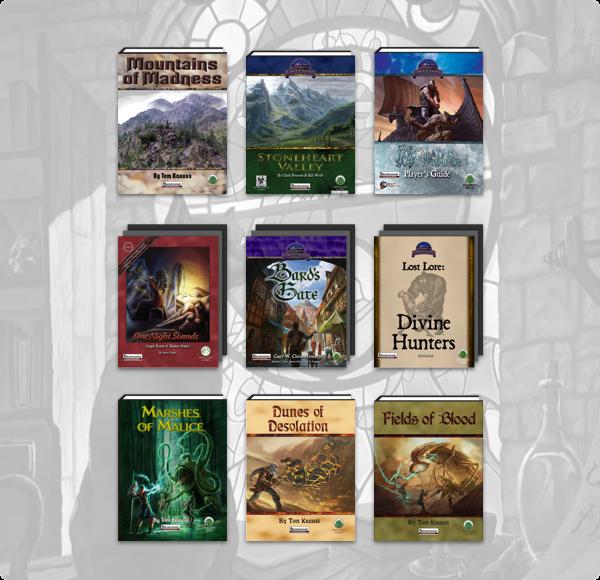 Humble RPG Book Bundle: Pathfinder 2018 by Frog God Games