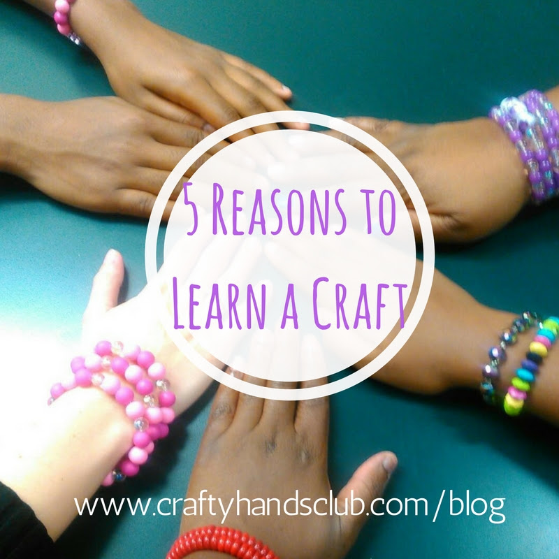 Meet the Crafty Hands Club!
