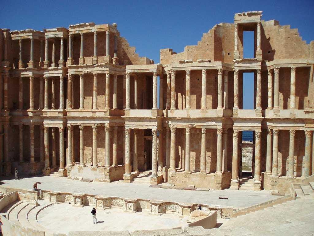 8. Libya: 6,250 tourists