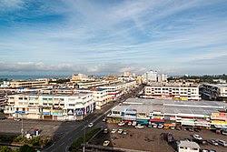 Tawau town centre.