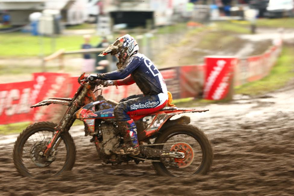 Alex Martin maintains hold of second in the championship and was seventh overall (10-7).