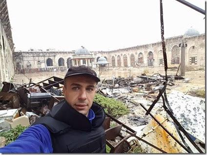 Aleppo - Ummayyaden Moskee - 13-12-2016