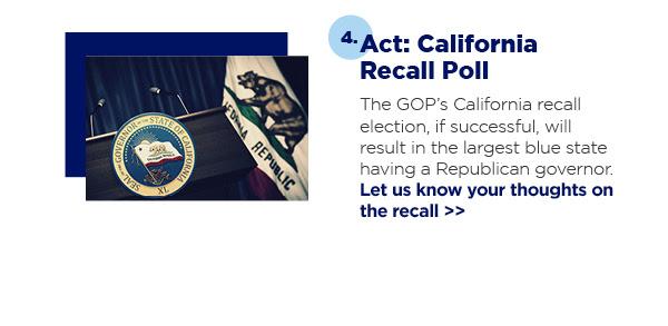 Act: California Recall Poll