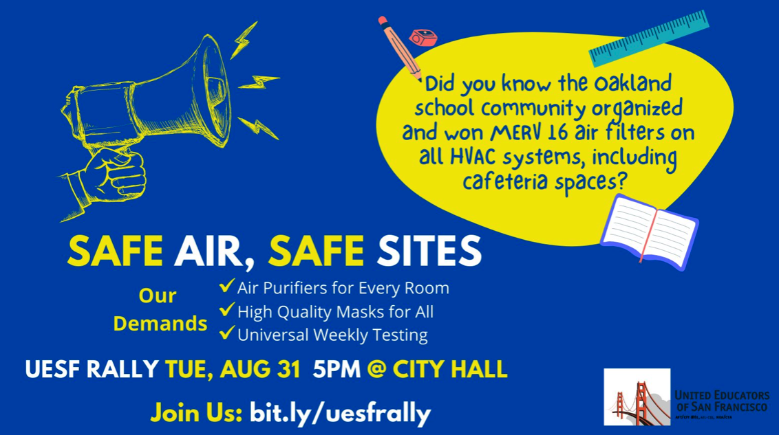 Rally for Safe Schools on Tuesday! @ City Hall